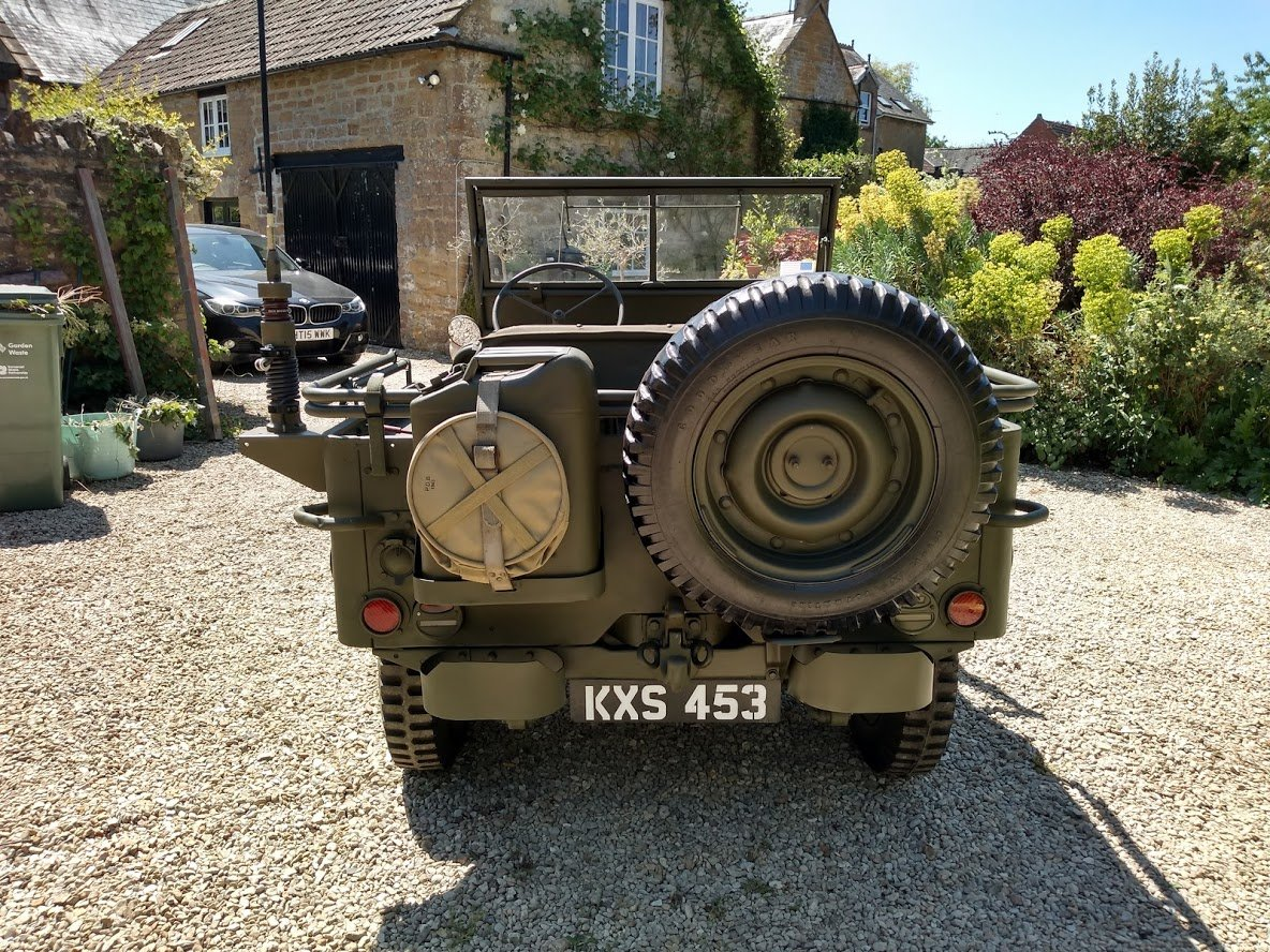 1945 Ford GPW Jeep - Matching Numbers For Sale (picture 5 of 6)