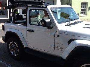 Jeep Wrangler Sahara 2.0 Soft top 4 yr Warranty