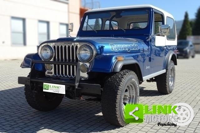 1977 Jeep Cj-7 Quadra Trac 5000 V8 Levis Edition For Sale (picture 1 of 6)