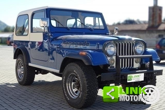 1977 Jeep Cj-7 Quadra Trac 5000 V8 Levis Edition For Sale (picture 2 of 6)