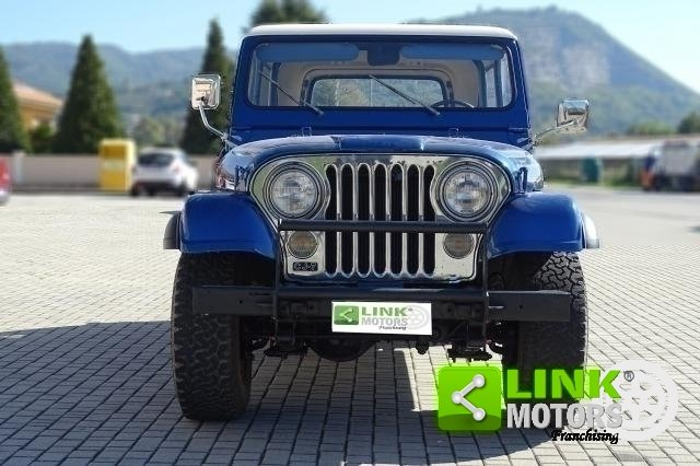 1977 Jeep Cj-7 Quadra Trac 5000 V8 Levis Edition For Sale (picture 3 of 6)