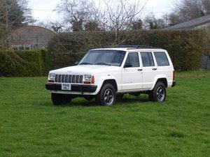 1996 Jeep Cherokee XJ 4.0 Manual 1 x Previous Keeper