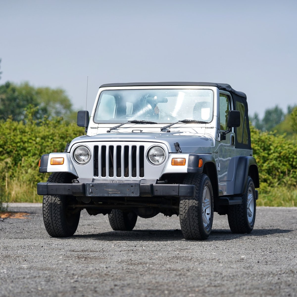2002 Jeep Wrangler 4.0 Grizzly 57,000 Miles from New For Sale (picture 1 of 6)
