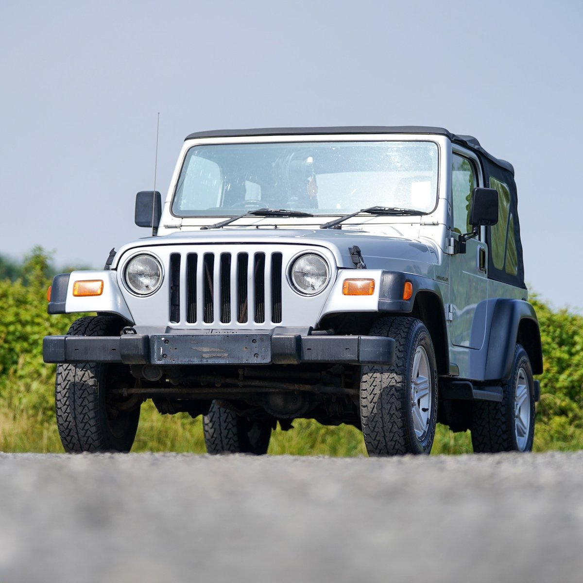 2002 Jeep Wrangler 4.0 Grizzly 57,000 Miles from New For Sale (picture 4 of 6)