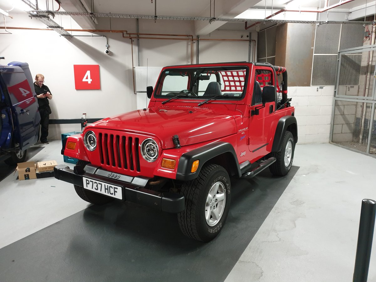1997 Jeep Wrangler 4.0 TJ Sport 37k Miles Soft Top For Sale (picture 1 of 6)