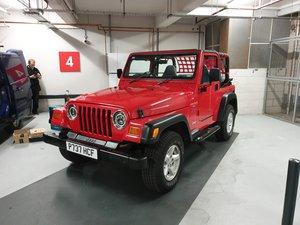Jeep Wrangler 4.0 TJ Sport 37k Miles Soft Top