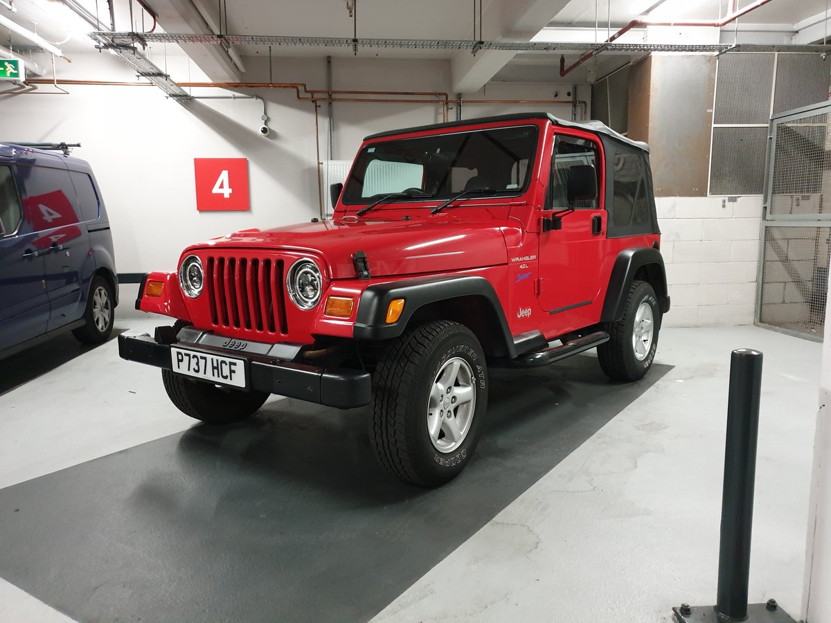 1997 Jeep Wrangler 4.0 TJ Sport 37k Miles Soft Top For Sale (picture 2 of 6)