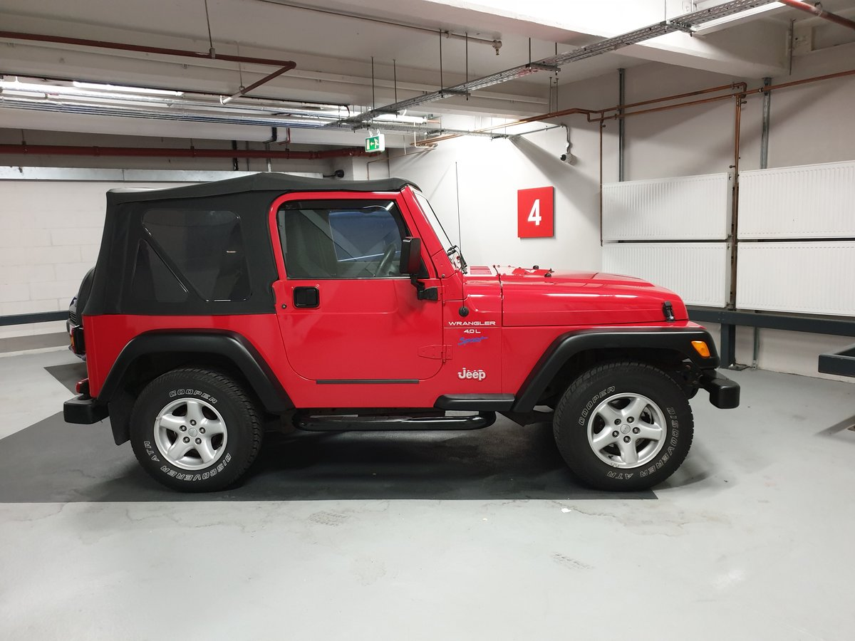 1997 Jeep Wrangler 4.0 TJ Sport 37k Miles Soft Top For Sale (picture 6 of 6)