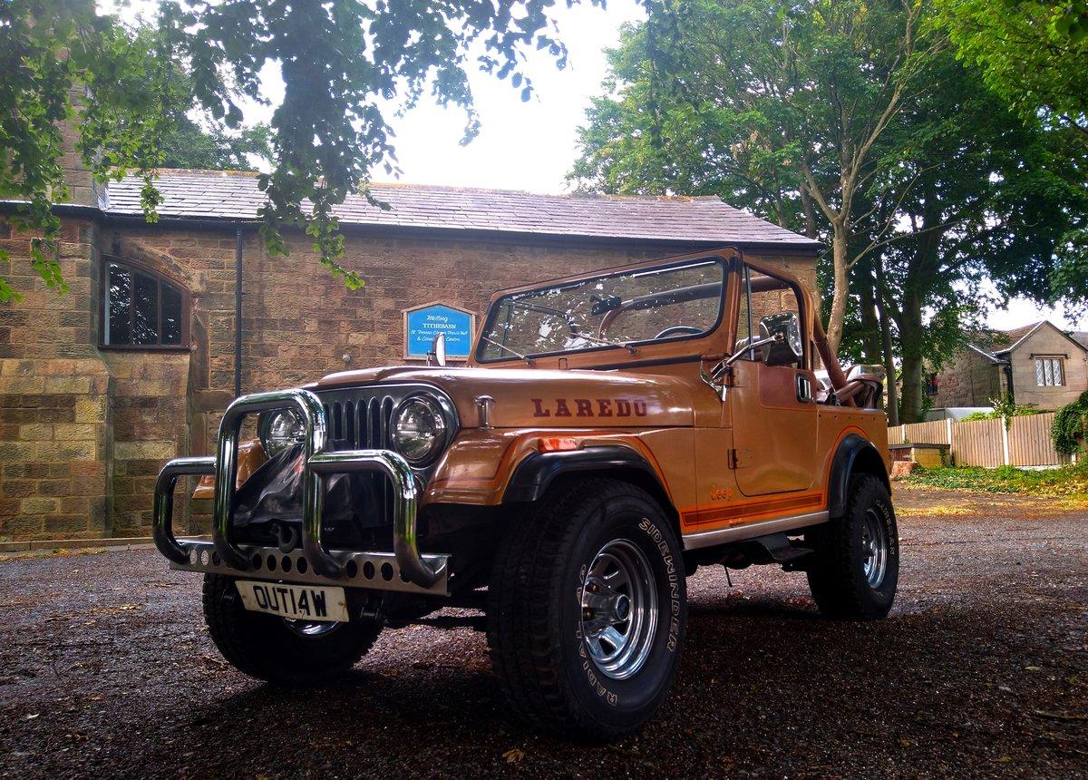 1982 Jeep Laredo CJ-7 For Sale (picture 2 of 6)