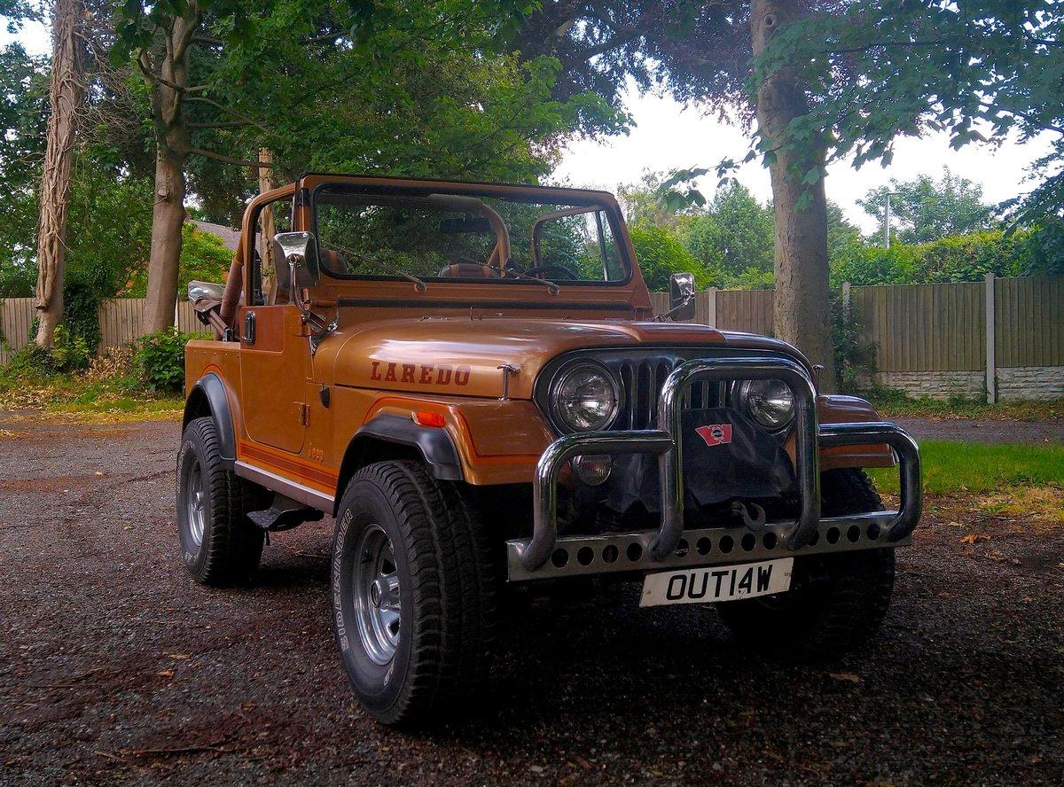 1982 Jeep Laredo CJ-7 For Sale (picture 5 of 6)