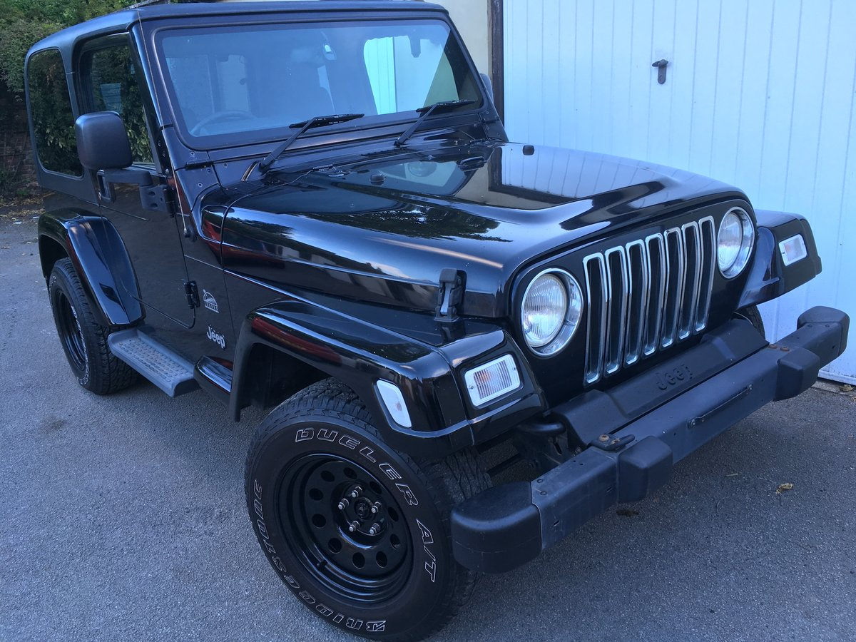 2004 54 Jeep Wrangler TJ 4.0 Sahara Hardtop Automatic For Sale (picture 1 of 6)