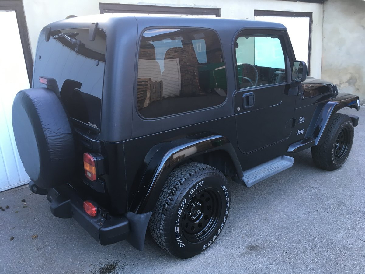 2004 54 Jeep Wrangler TJ 4.0 Sahara Hardtop Automatic For Sale (picture 2 of 6)