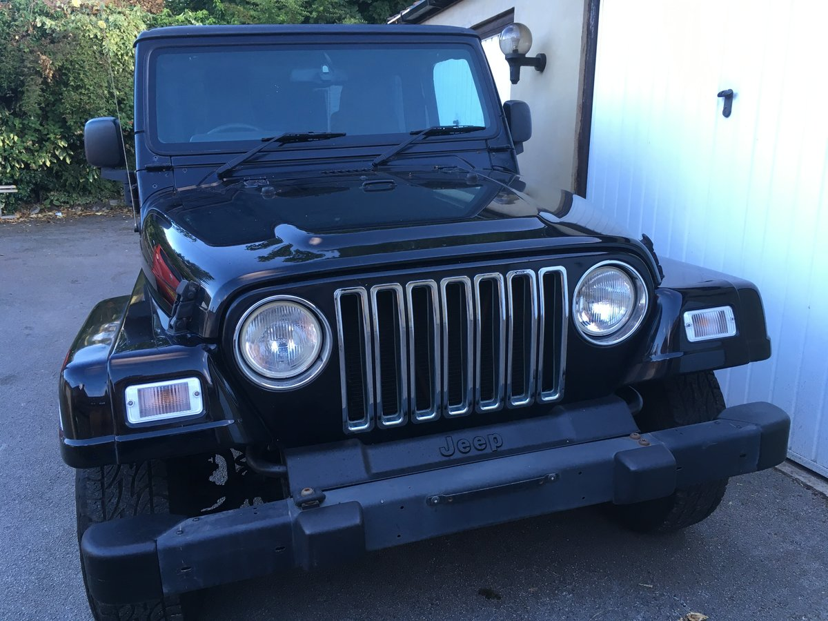 2004 54 Jeep Wrangler TJ 4.0 Sahara Hardtop Automatic For Sale (picture 5 of 6)