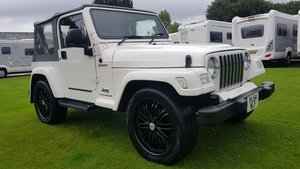 2005 Jeep Wrangler 4.0 auto white jap import refurbed a