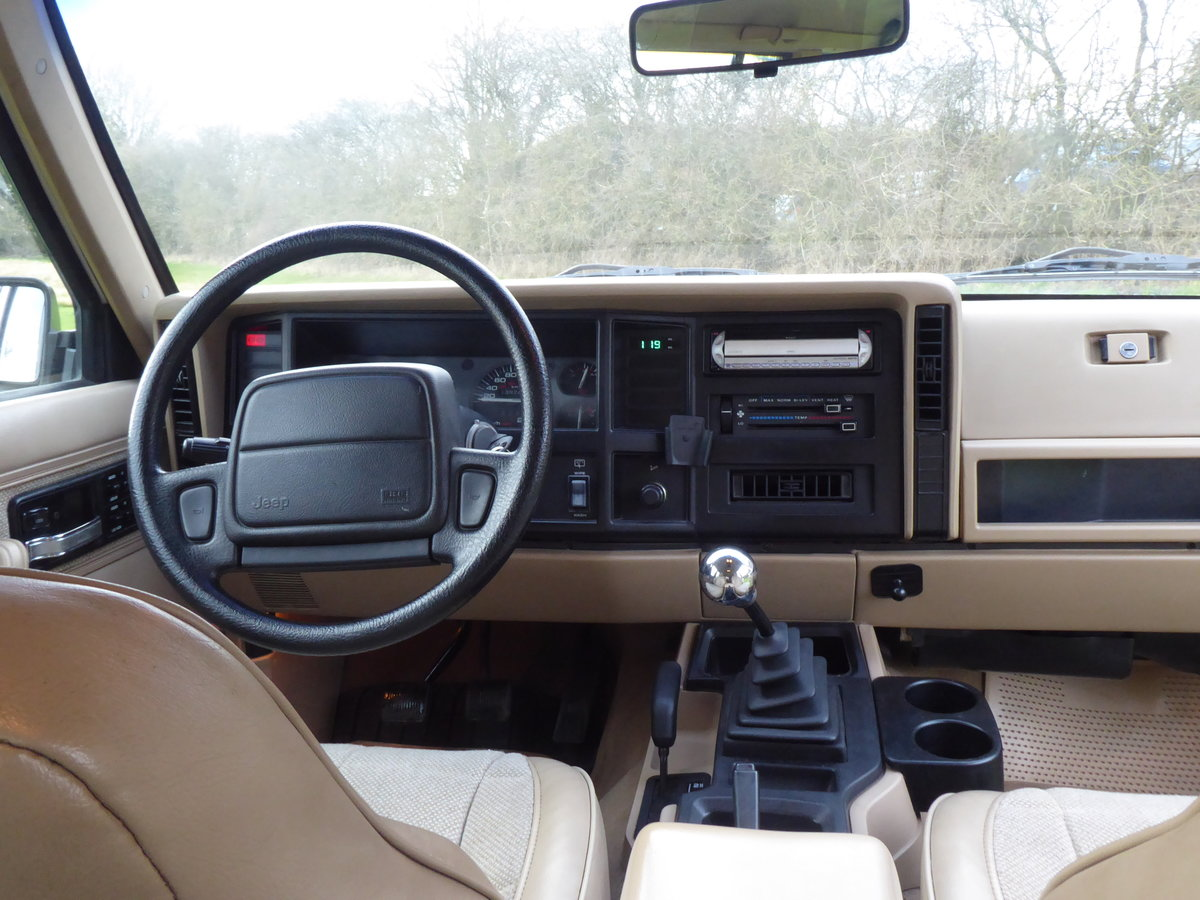 1996 Jeep Cherokee XJ 4.0  SOLD SIMILAR REQUIRED PLEASE For Sale (picture 5 of 6)