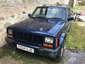 Jeep Cherokee, excellent original project car