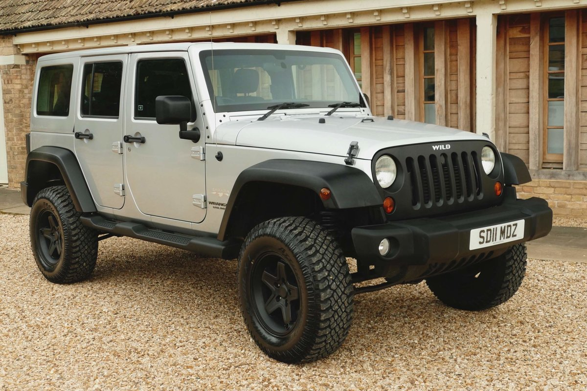 2011 JEEP WRANGLER 2.8TDI WILD A E V Edition Sahara For Sale (picture 1 of 5)