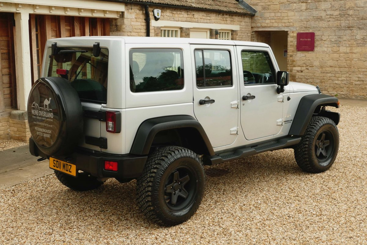 2011 JEEP WRANGLER 2.8TDI WILD A E V Edition Sahara For Sale (picture 2 of 5)