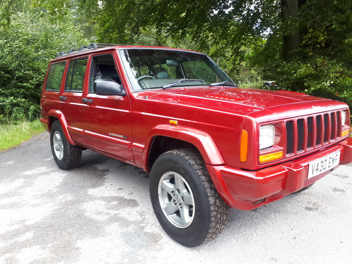 1997 Jeep Cherokee ORVIS 2.5 TD Manual Full Leather 99V For Sale (picture 1 of 6)