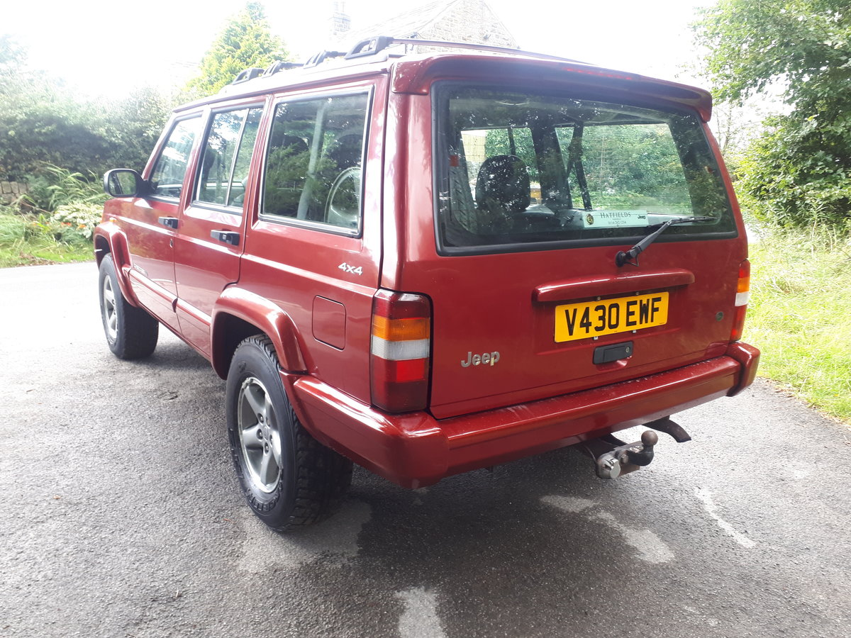 1997 Jeep Cherokee ORVIS 2.5 TD Manual Full Leather 99V For Sale (picture 4 of 6)