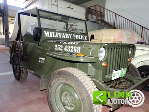 1955 JEEP WILLYS ANNO 1944 , MOTORE ORIGINALE WILLYS |ISCRITTA A