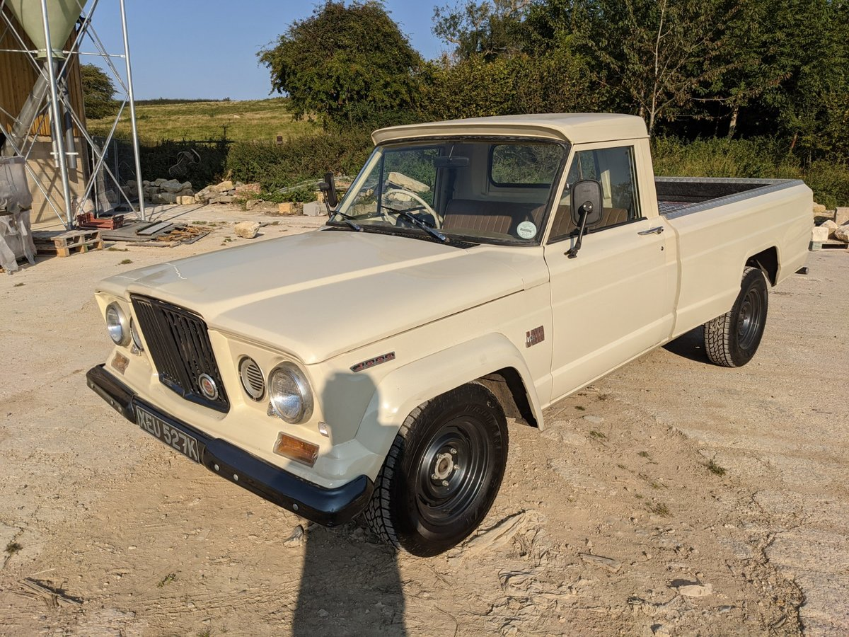 1971 Jeep Gladiator RHD Lexus v8 For Sale (picture 2 of 6)