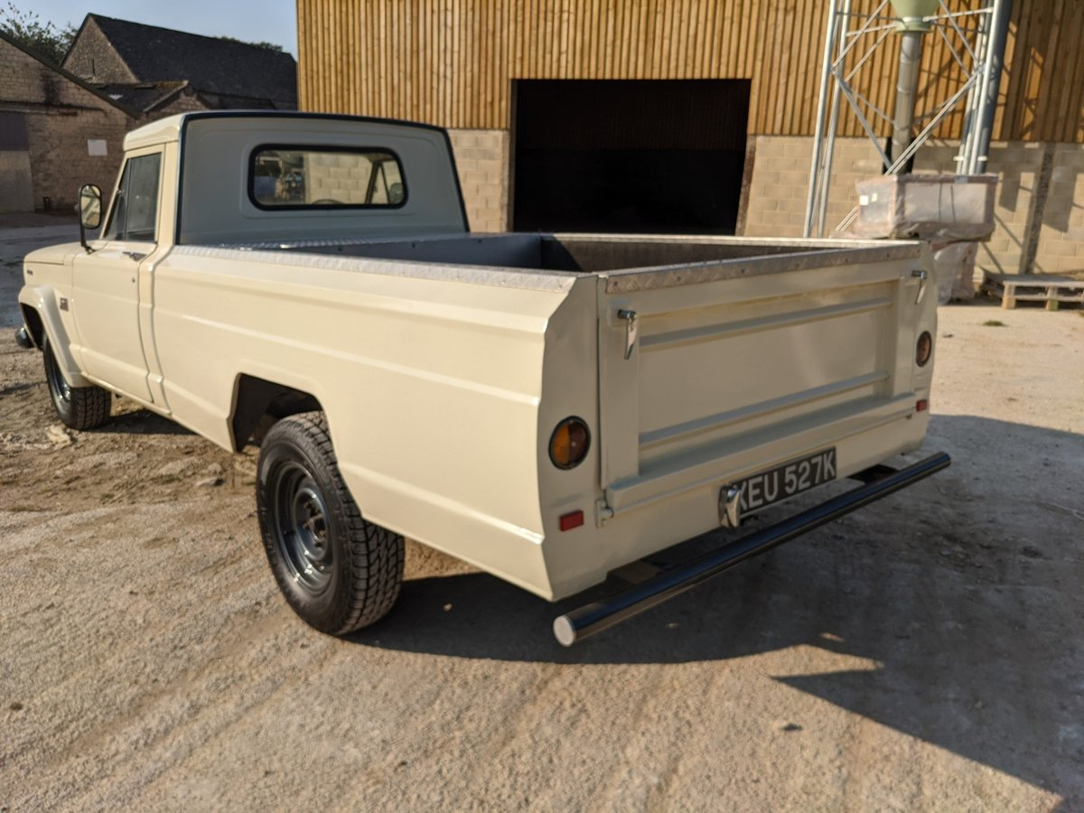 1971 Jeep Gladiator RHD Lexus v8 For Sale (picture 6 of 6)