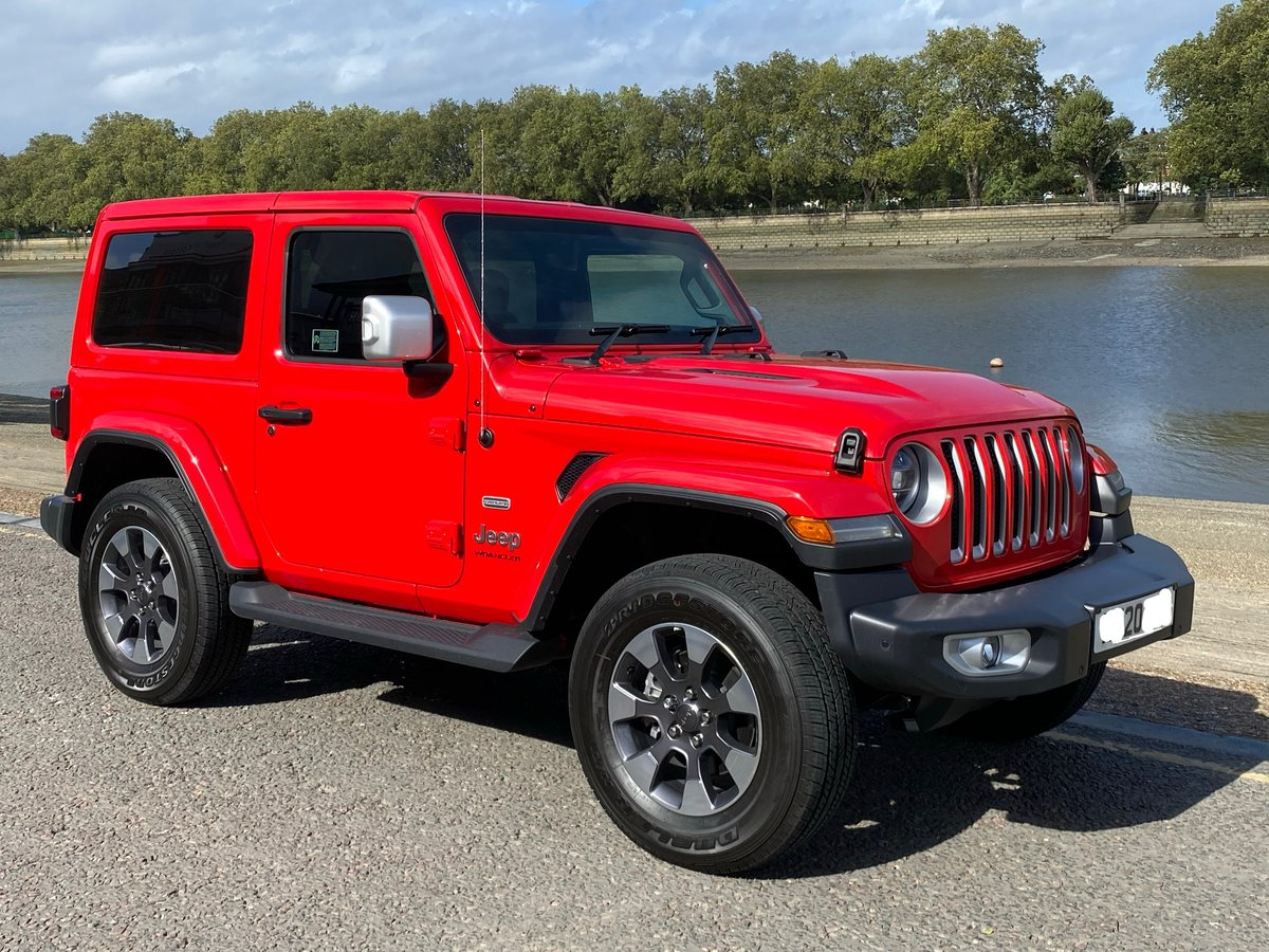 Save over £10k Jeep Wrangler 2020 Auto Overland For Sale (picture 1 of 6)