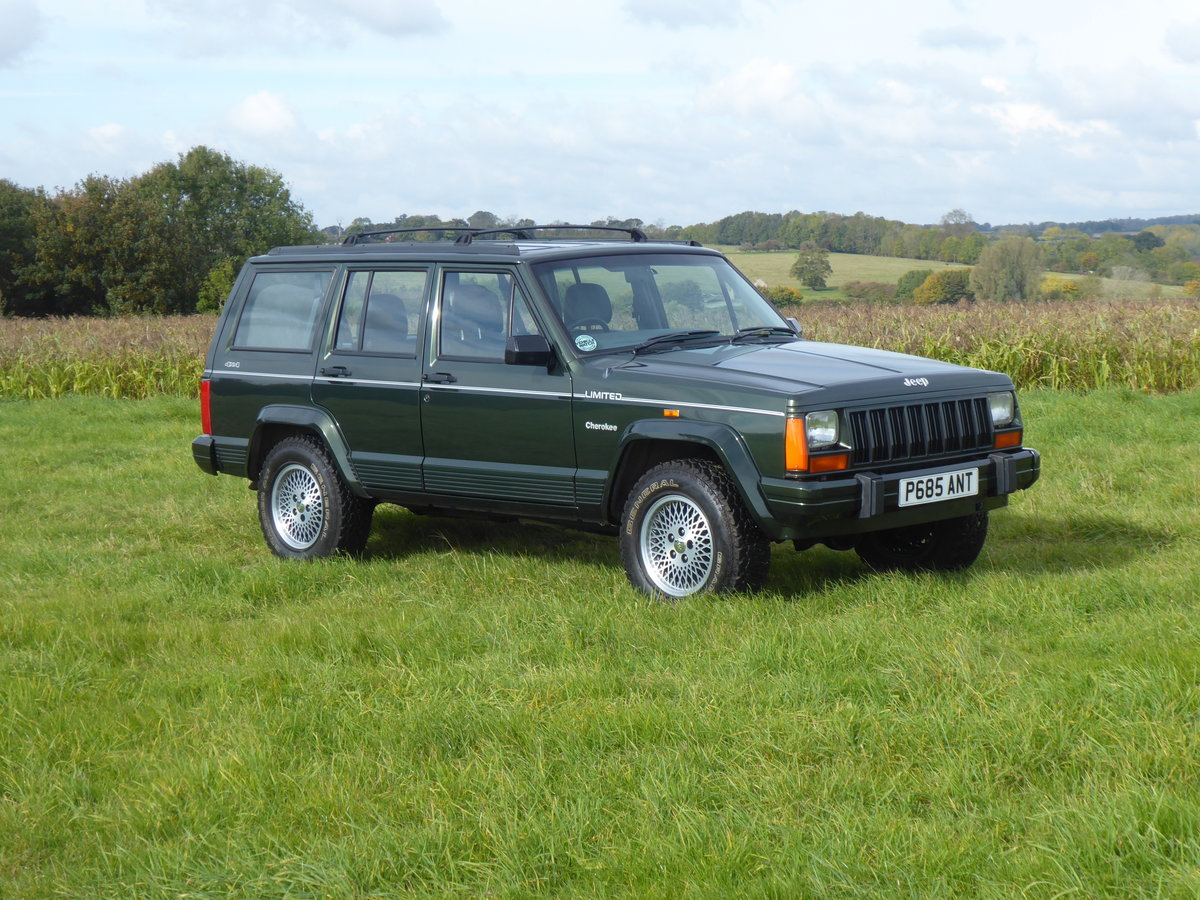 1996 Jeep Cherokee XJ 4.0 Limited 64k Superb Example 4WD For Sale (picture 1 of 6)