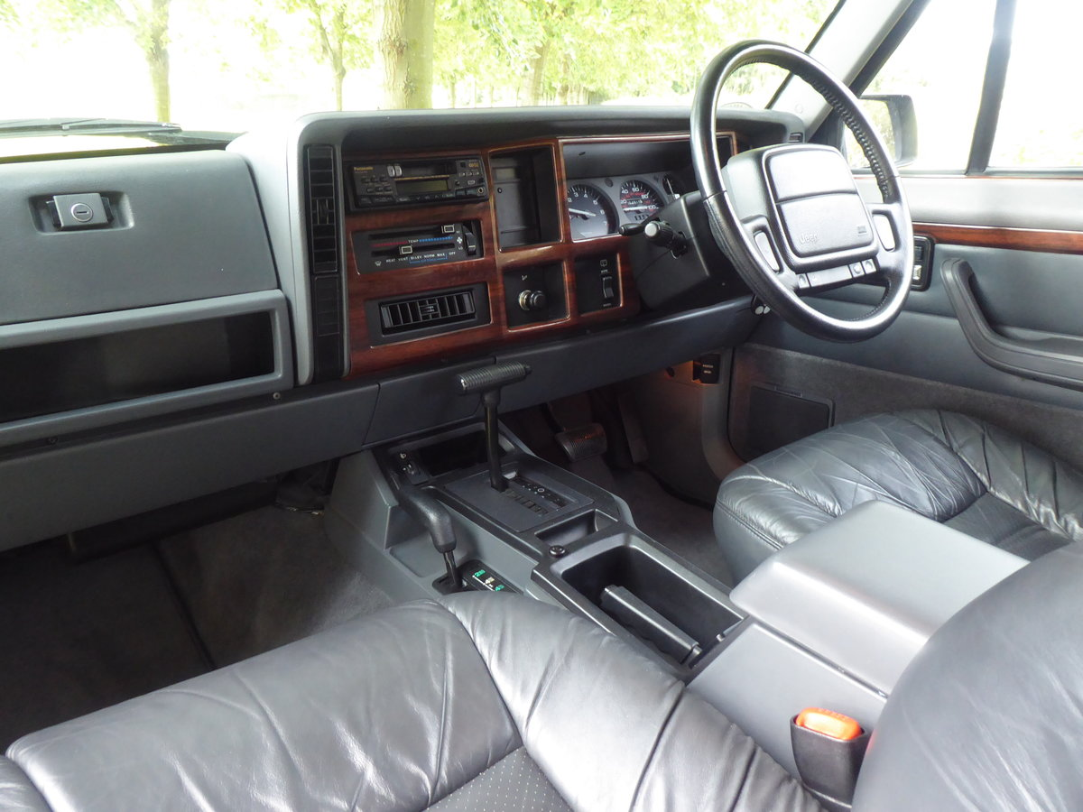 1996 Jeep Cherokee XJ 4.0 Limited 64k Superb Example 4WD For Sale (picture 5 of 6)