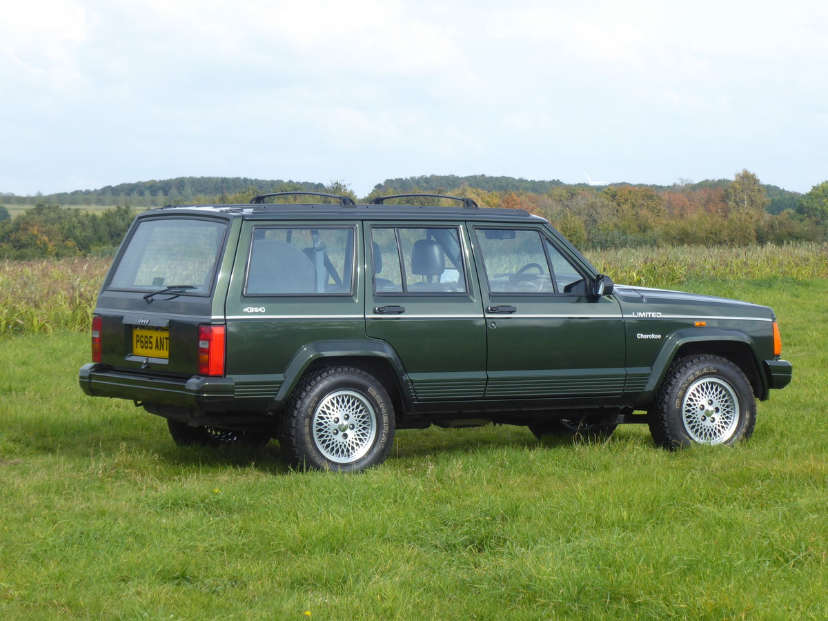 1996 Jeep Cherokee XJ 4.0 Limited 64k SOLD SIMILAR REQUIRED For Sale (picture 1 of 6)