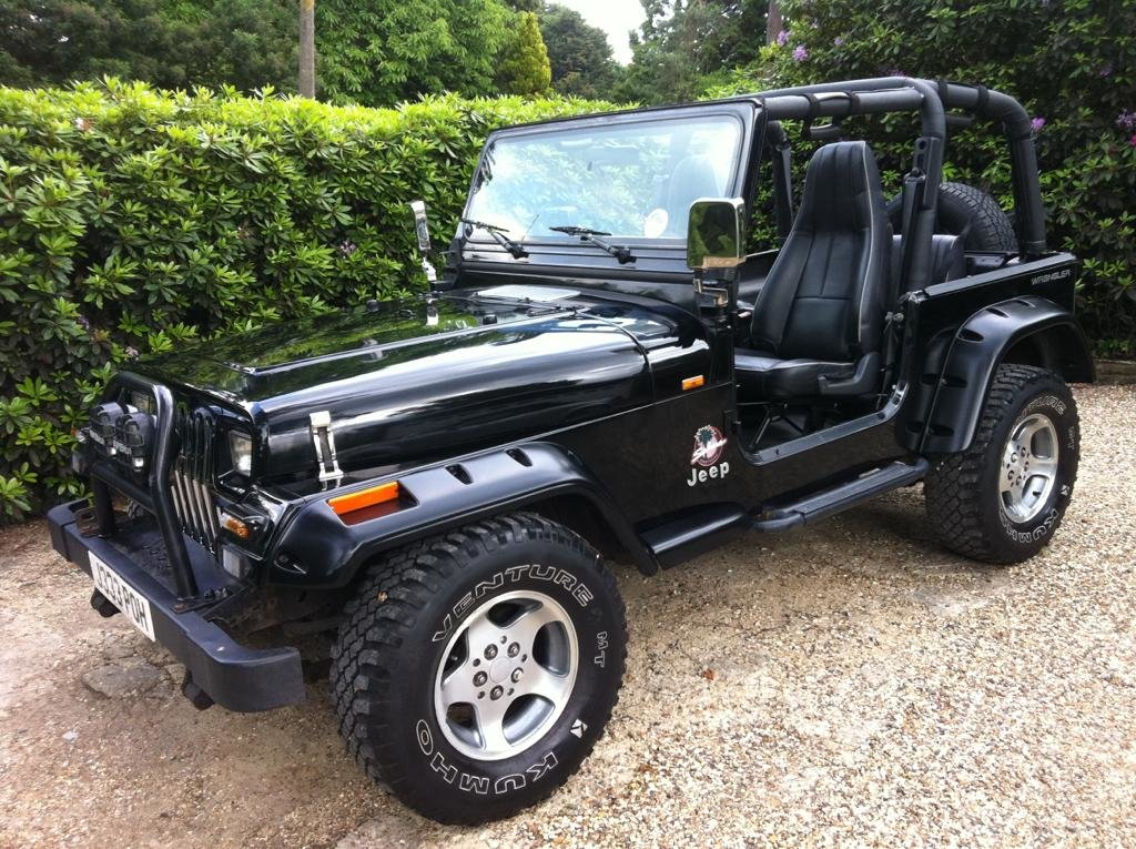 Picture of 1995 Jeep Wrangler in Black with Thousands Spent
