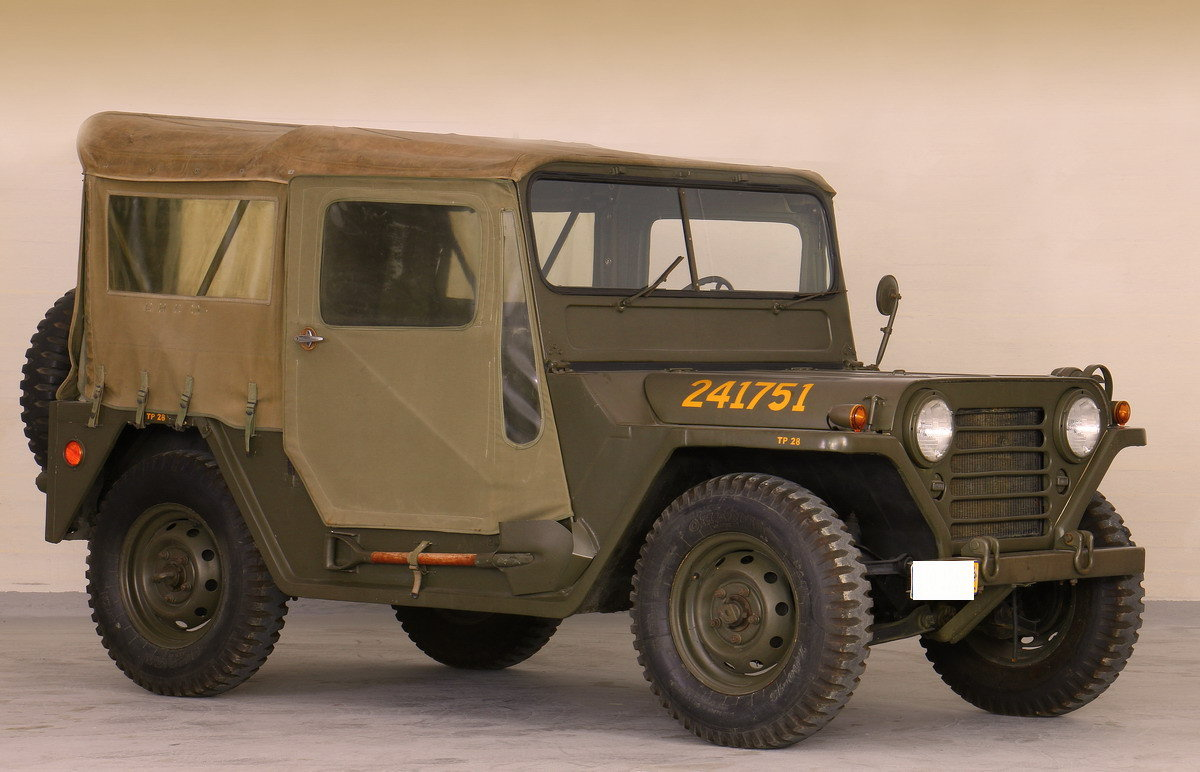 1964 Jeep M151 A1 Restored For Sale (picture 1 of 5)