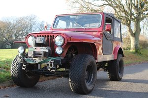 Jeep CJ-7 1979 - To be auctioned 26-03-21