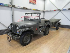 Picture of 1959 Nekaf / Willys Army Jeep M38A1 with Polynorm trailer For Sale