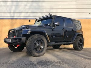 2014 JEEP WRANGLER CUSTOM OVERLAND UNLIMITED // 2.8 CRD