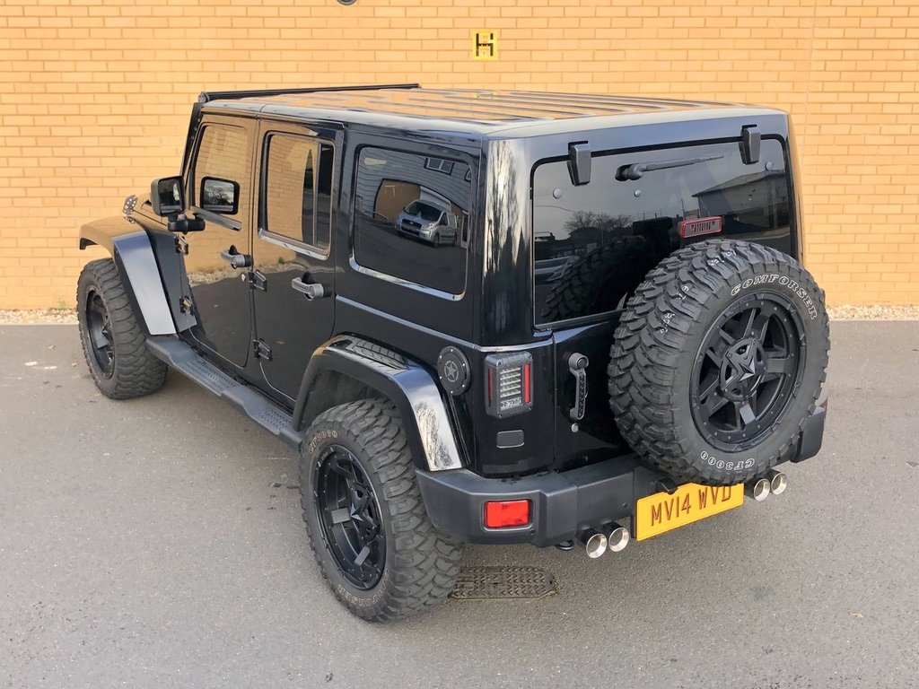 2014 JEEP WRANGLER CUSTOM OVERLAND UNLIMITED // 2.8 CRD SOLD (picture 3 of 20)