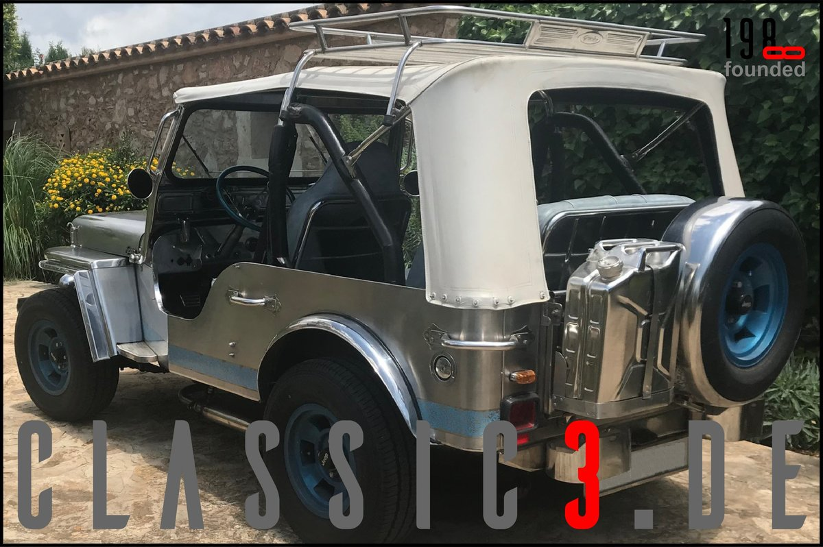 1979 JEEP WILLYS *NAVOTAS STAINLESS* JEWELS BUGGY *MALLORCA* For Sale (picture 3 of 12)