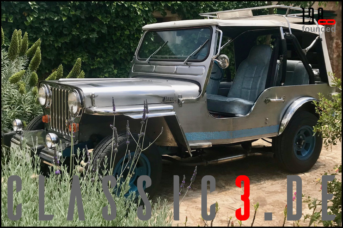 1979 JEEP WILLYS *NAVOTAS STAINLESS* JEWELS BUGGY *MALLORCA* For Sale (picture 6 of 12)