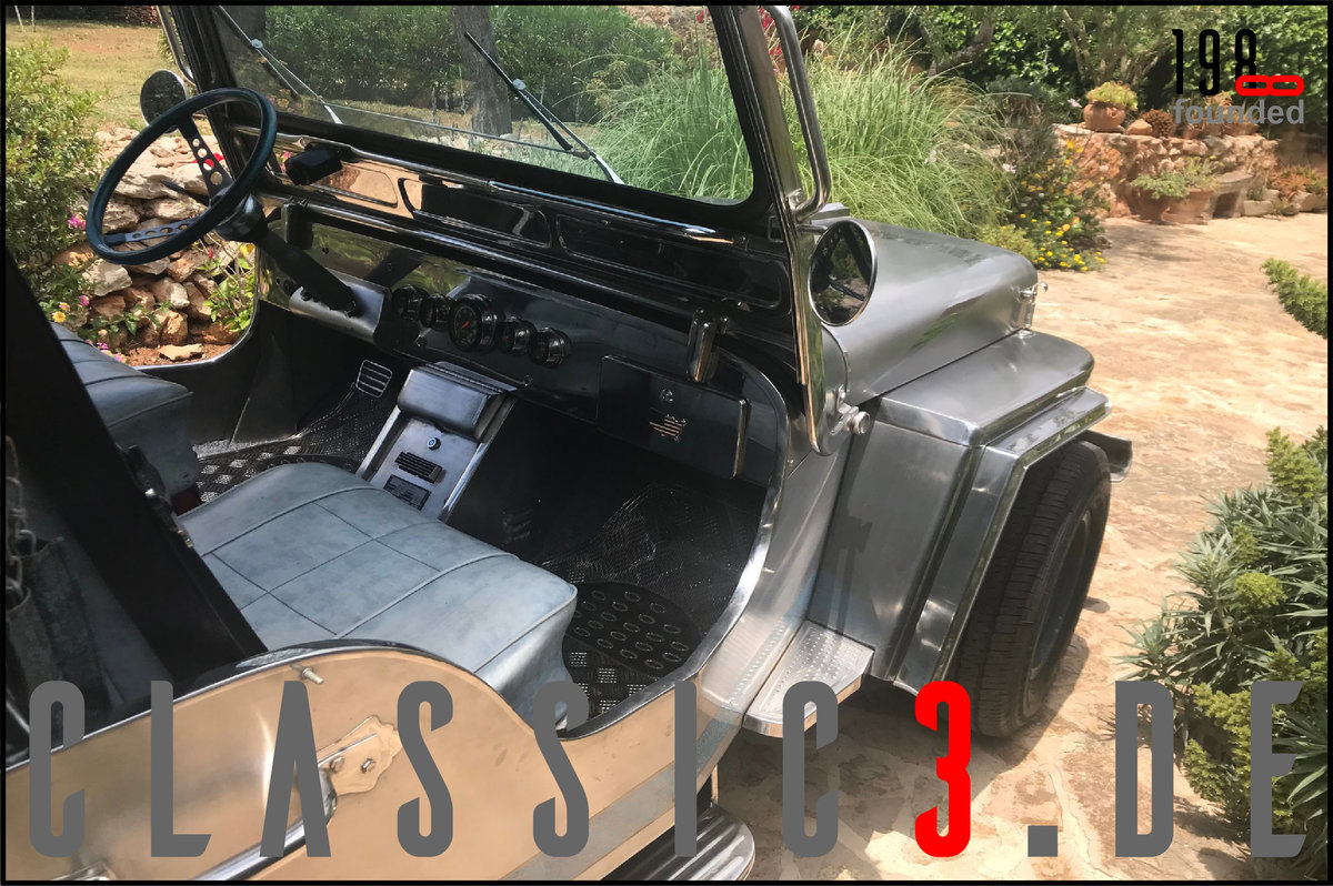 1979 JEEP WILLYS *NAVOTAS STAINLESS* JEWELS BUGGY *MALLORCA* For Sale (picture 8 of 12)