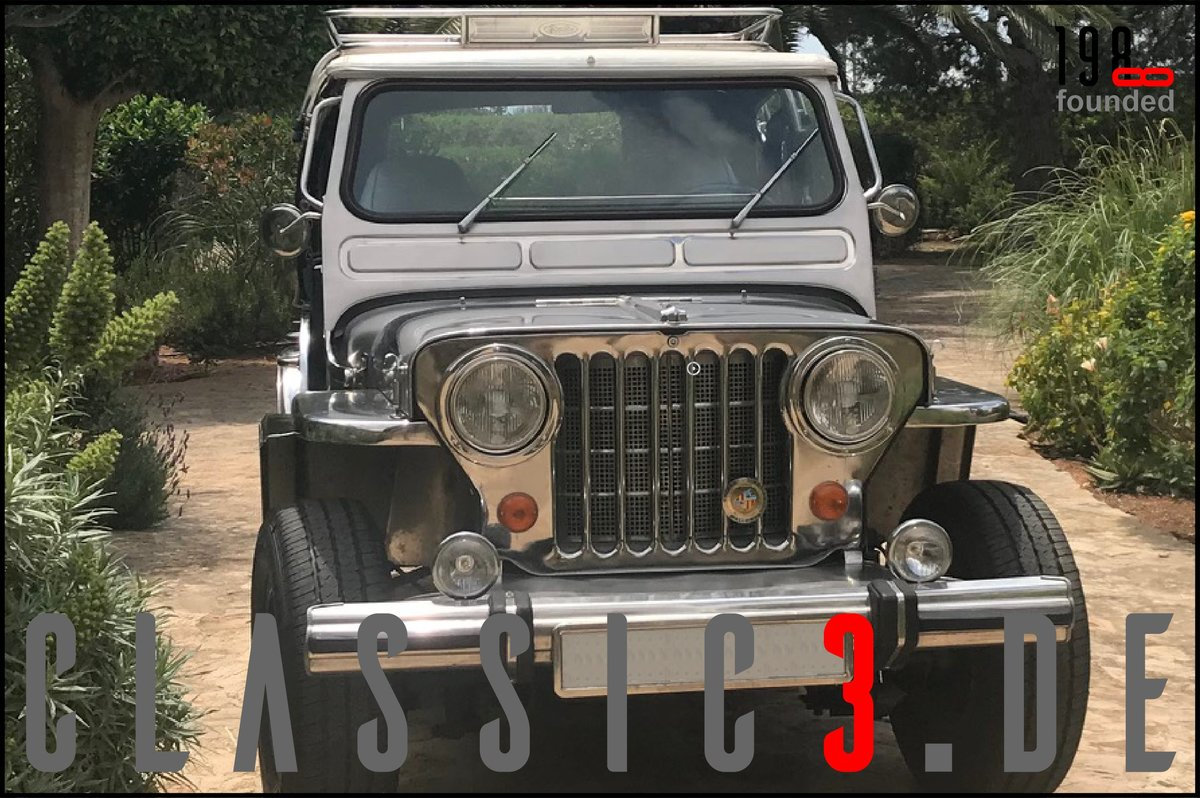 1979 JEEP WILLYS *NAVOTAS STAINLESS* JEWELS BUGGY *MALLORCA* For Sale (picture 2 of 12)