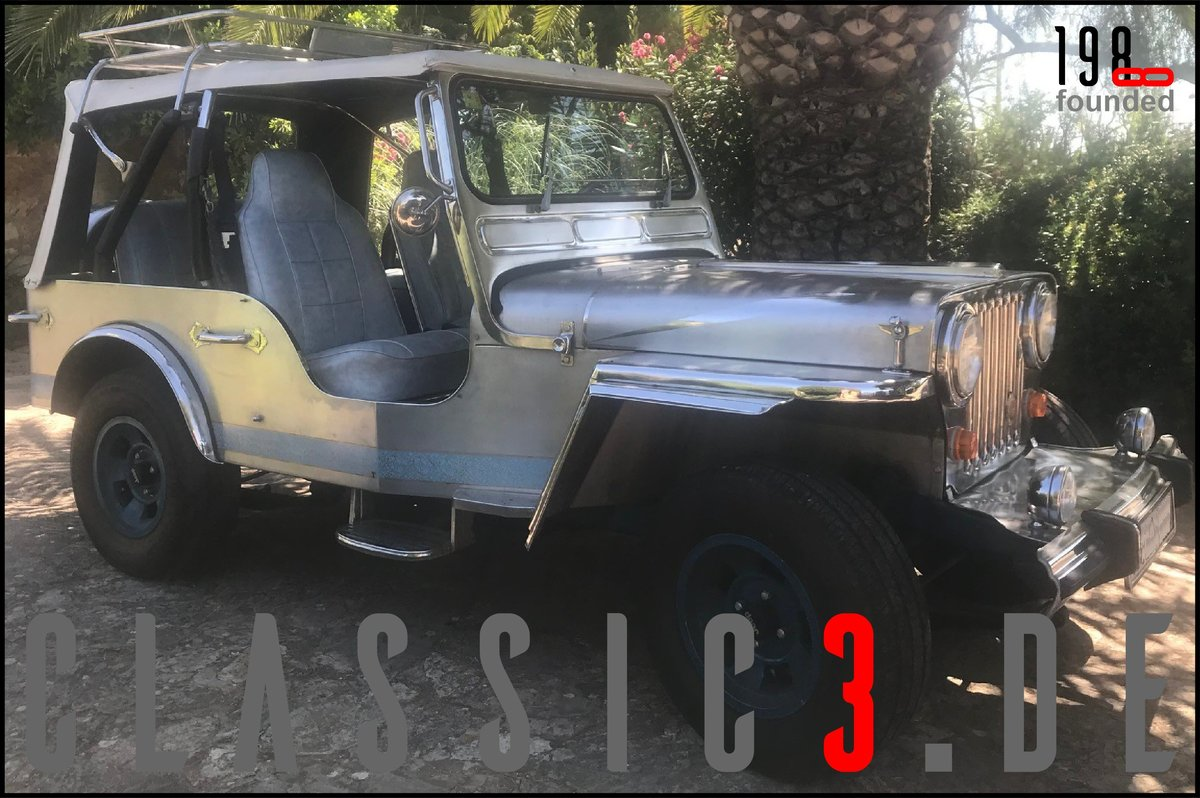 1979 JEEP WILLYS *NAVOTAS STAINLESS* JEWELS BUGGY *MALLORCA* For Sale (picture 9 of 12)