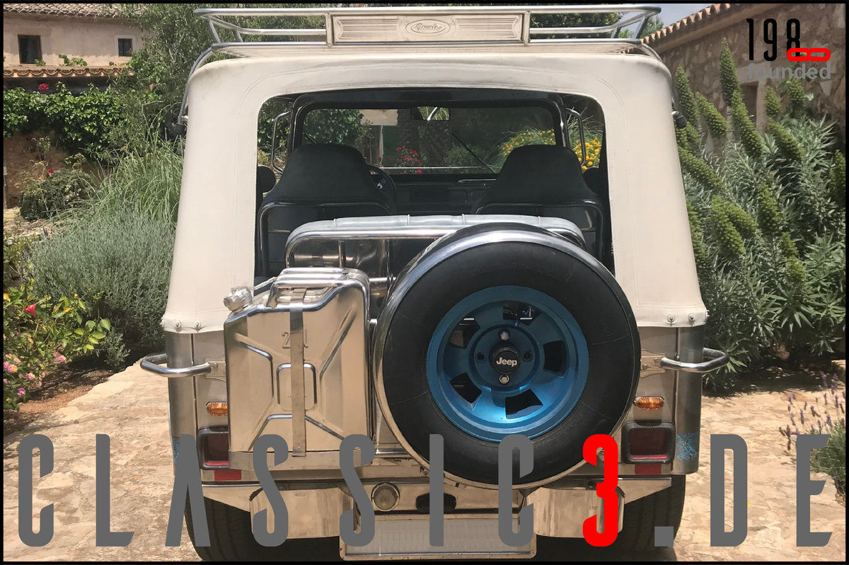 1979 JEEP WILLYS *NAVOTAS STAINLESS* JEWELS BUGGY *MALLORCA* For Sale (picture 10 of 12)