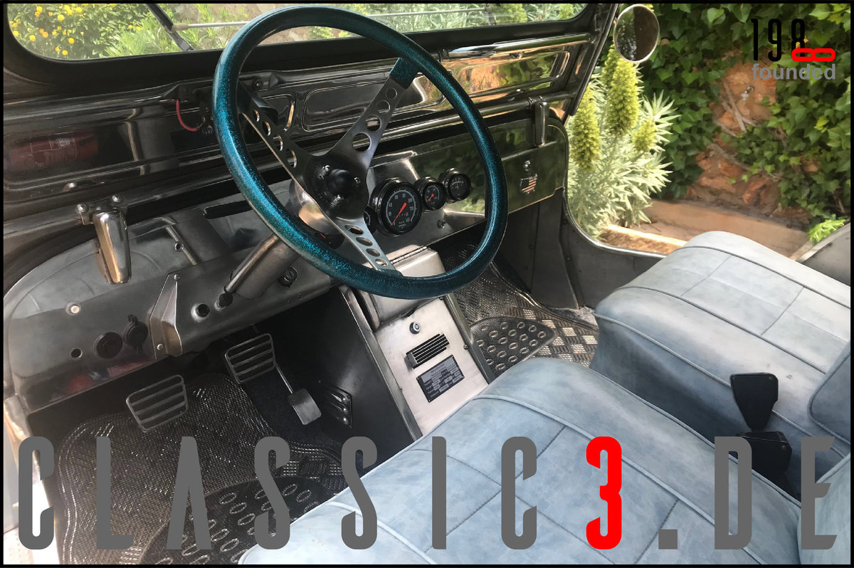 1979 JEEP WILLYS *NAVOTAS STAINLESS* JEWELS BUGGY *MALLORCA* For Sale (picture 11 of 12)