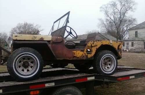 1947 Jeep CJ2A * Project For Sale (picture 1 of 1)