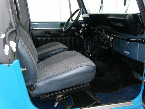 1982 Jeep CJ-7 4X4 LPG For Sale (picture 3 of 4)