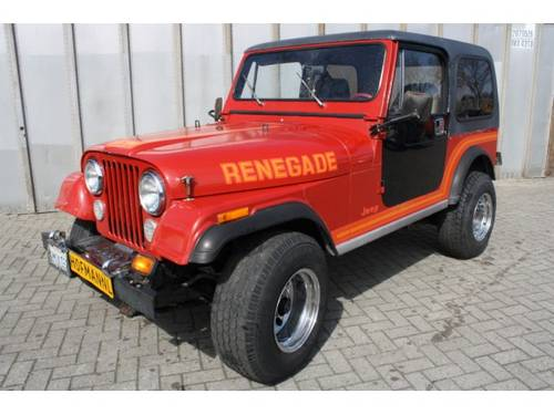 1985 Jeep CJ-7 4x4 Hardtop For Sale (picture 1 of 6)