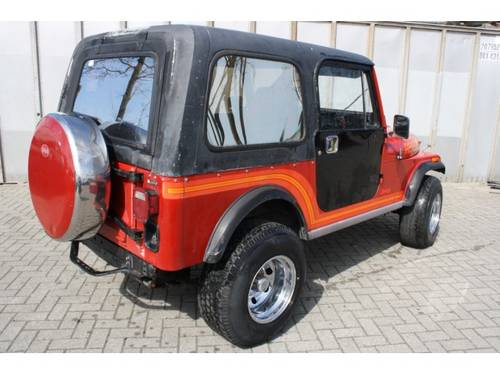 1985 Jeep CJ-7 4x4 Hardtop For Sale (picture 2 of 6)