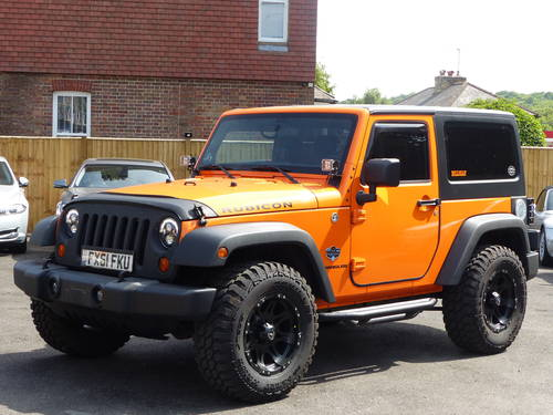 JEEP WRANGLER RUBICON 3.6 V6 SWB - LHD + 2012 SOLD (picture 1 of 6)