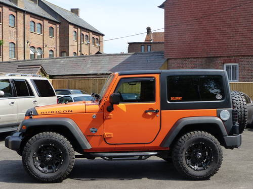 JEEP WRANGLER RUBICON 3.6 V6 SWB - LHD + 2012 SOLD (picture 2 of 6)